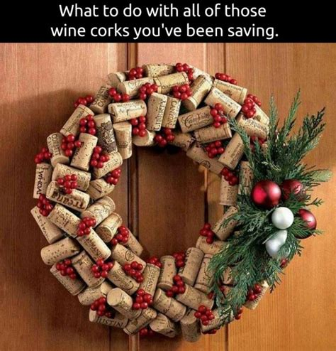 christmas cork idea images 30 of the best diy wreath ideas kitchen with my 3 sons