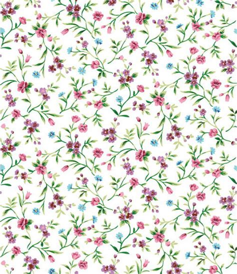free pattern background small small broken flower background vector vector background