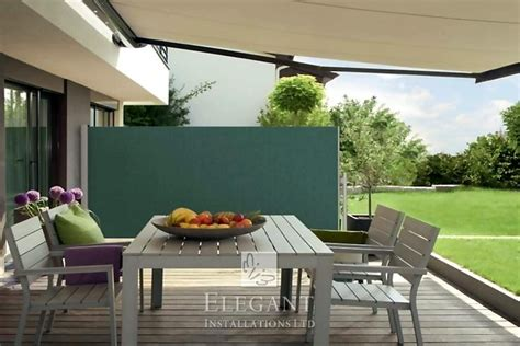 patio awnings with side screens awnings with sides patio awning side screens by elegant