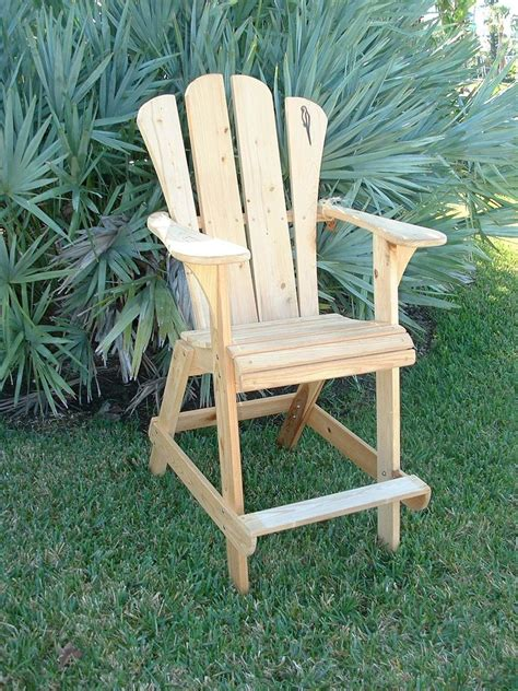 adirondack chair extra tall design wooden projects