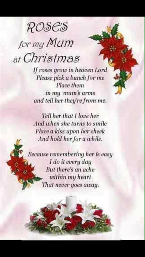 merry christmas  heaven mom   love   xo  mom mom  heaven