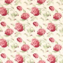 flower wallpaper laura ashley hydrangea cranberry wallpaper at laura ashley laura