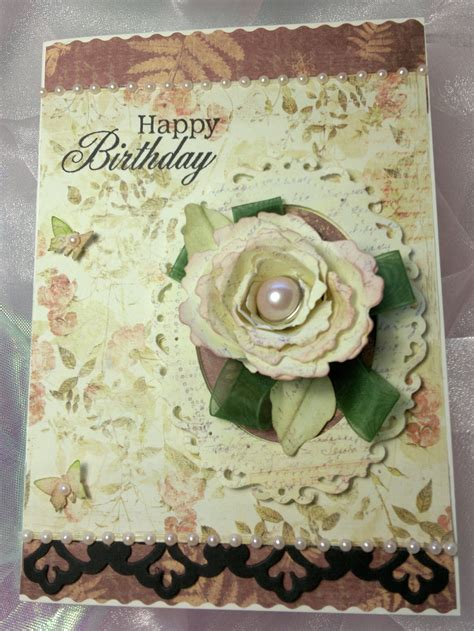 Vintage Birthday Card Ideas vintage style birthday card ideas for cardmaking