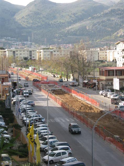 mobilita palermo tram via l da vinci avanzano i lavori mobilita palermo