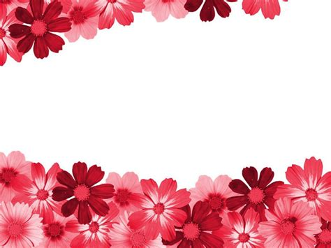 wallpaper borders free download red flower clipart border pencil and in color red flower