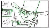 cowboy klaus film storyboards for cowboy klaus