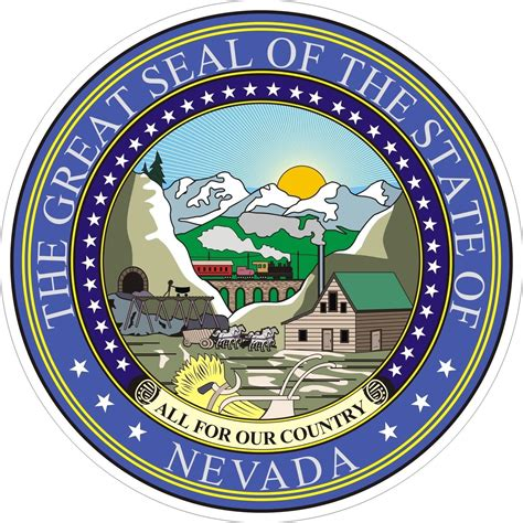 nevada tattoo laws nevada state seal states stuff nevada