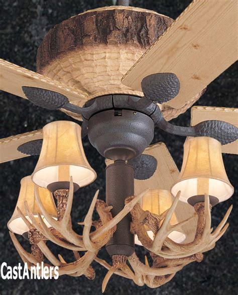 deer horn ceiling fans standard size fans 52 quot rustic faux antler lodge ceiling