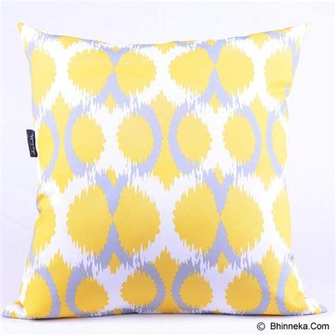 Bantal Yellow 66601033 Murah jual sleep buddy cushion geometric yellow murah bhinneka