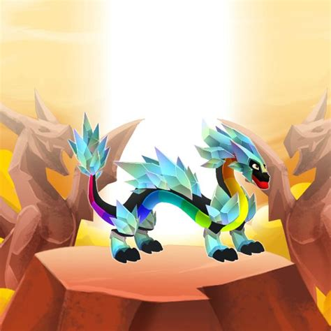 drainbow dragon information  dragon city