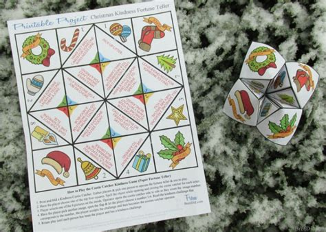 elf on the shelf printable fortune teller 14 awesome christmas printables for free