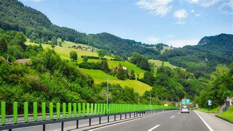 viajar  suiza en coche