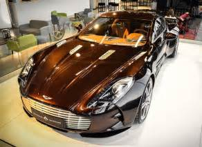 Brown Aston Martin Brown Aston Martin One 77 Spotted For Sale