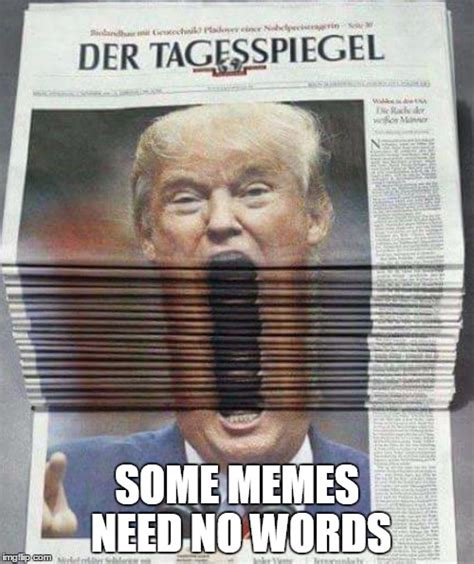 Memes Without Words - trump news imgflip