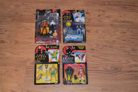 figure blister packaging batman figure lot 4 x blister packaging catawiki