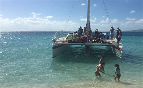 catamaran to icacos 2017 01 02 catamaran steps to icacos island jen there