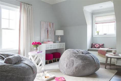 gray girl bedroom pink and gray teen girl bedroom design contemporary