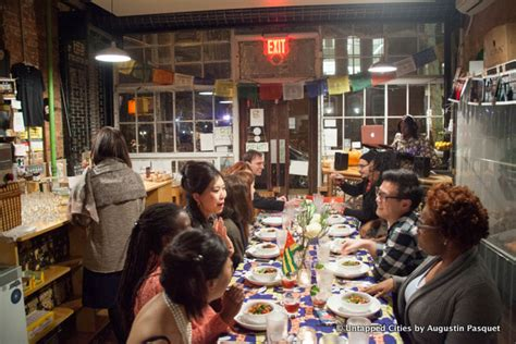 bed stuy fresh and local a togolese dinner after hours in a bed stuy bodega through