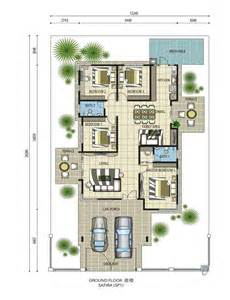 One Story Bungalow House Plans Single Story Bungalow House Plans Malaysia Arts