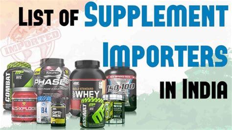 Suplemen Impor fitness supplement importers in india fitness rockers