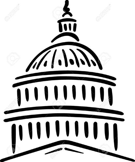 united states capitol building coloring page capitol building clipart many interesting cliparts
