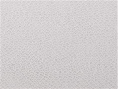 White Faux Leather by Mjtrends Snakeskin Fabric White
