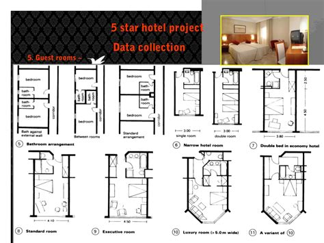 layout of five star hotel 5 star hotel project data collection 5 guest rooms