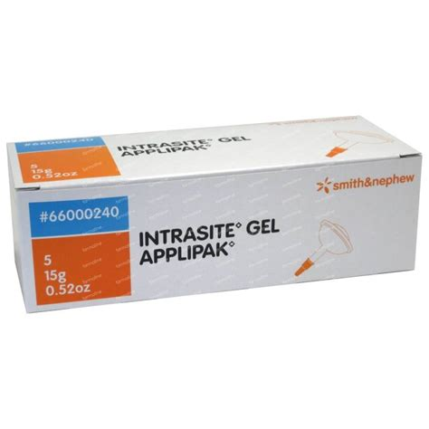 intrasite 15 gram premium quality product intrasite gel 75 g order