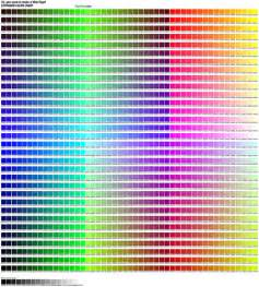 hexidecimal colors pmg color codes flickr photo
