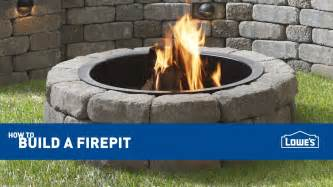 How To Build A Backyard Firepit How To Build An Outdoor Pit