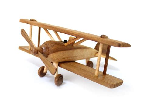 Handmade Wooden Planes - woodworking projects for a desk wooden airplane plans