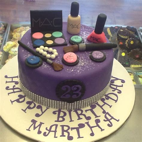 makeup themed birthday cake mac makeup theme cake all fondant speciality cakes