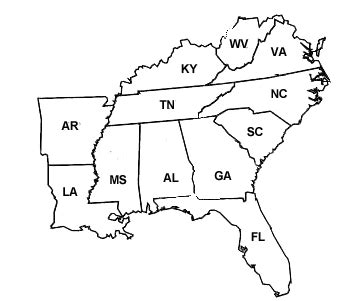 east america map quiz rayle10 the southeast 2011 tatum chris