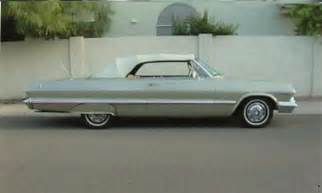 1963 Chevrolet Impala Convertible 1963 Chevrolet Impala Ss Convertible 16115