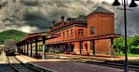 western maryland station trains and railroads