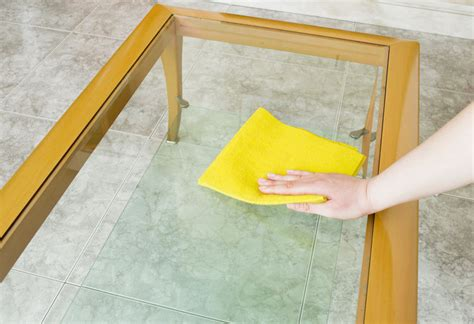 How To Clean Glass Dining Table How To Properly Clean Glass Tables Ebay