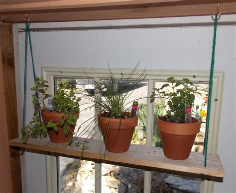 herb shelf bring the outdoors in with hanging herb shelves minwax blog
