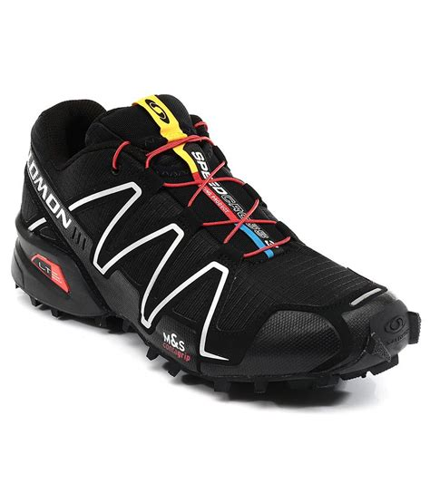salomon sport shoes salomon speedcross 3 black sport shoes price in india buy