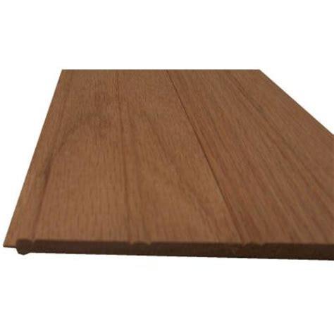 beadboard ceiling home depot 1 4 in x 6 in x 8 ft adirondack oak beadboard plank