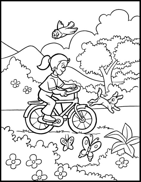 spring and summer coloring pages az coloring pages