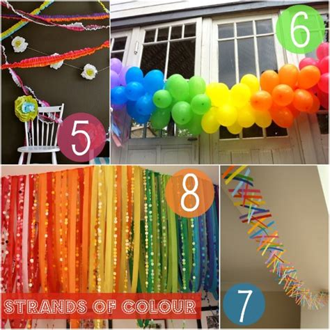 Handmade Birthday Decorations - celebrate in handmade style 20 tutorials to give your