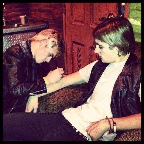 rocky lynch tattoo r5 ross s lol r5