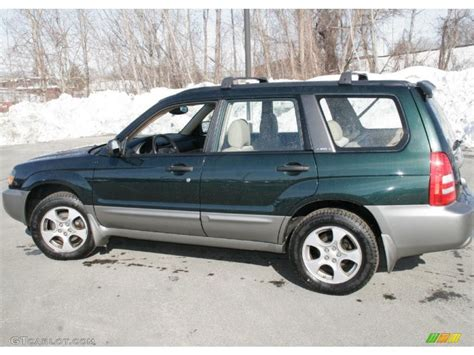 2002 green subaru forester 2003 woodland green pearl subaru forester 2 5 xs 44734317