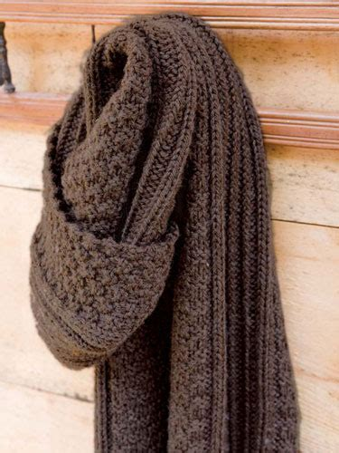 mens scarf knitting patterns the black and white style scarves knitting patterns