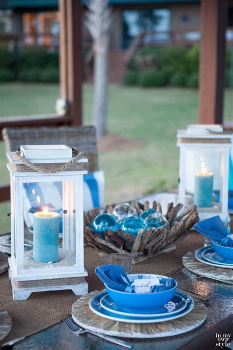 Outdoor Nautical Decor by Decorating Outdoors Coastal Style In Own Style