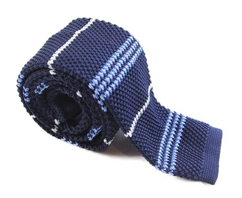 navy blue knit tie navy white and light blue knit tie the tie rack