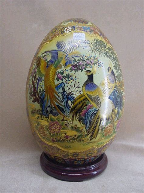 Decorative Eggs by Satsuma Decorative Egg From China From