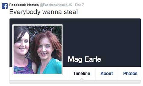 funniest   names  facebook spotph