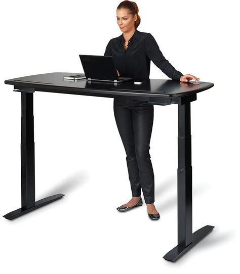 Kinetic Desk Rises To Nudge You Into A Standing Position Standing At Desk