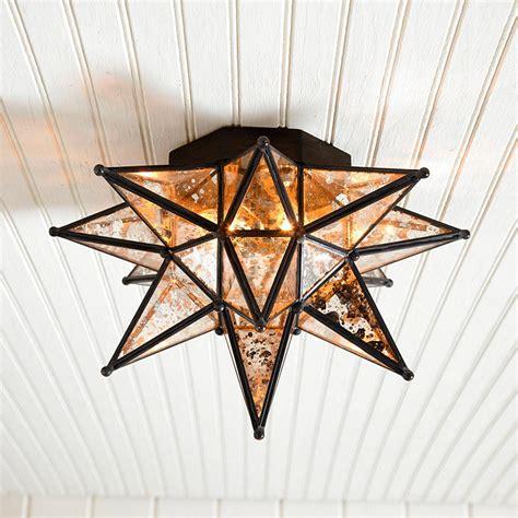 Ballard Designs Outdoor Lighting moravian star ceiling mount ballard designs